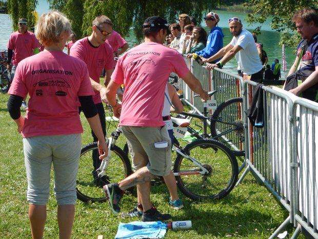 A bike being put back properly