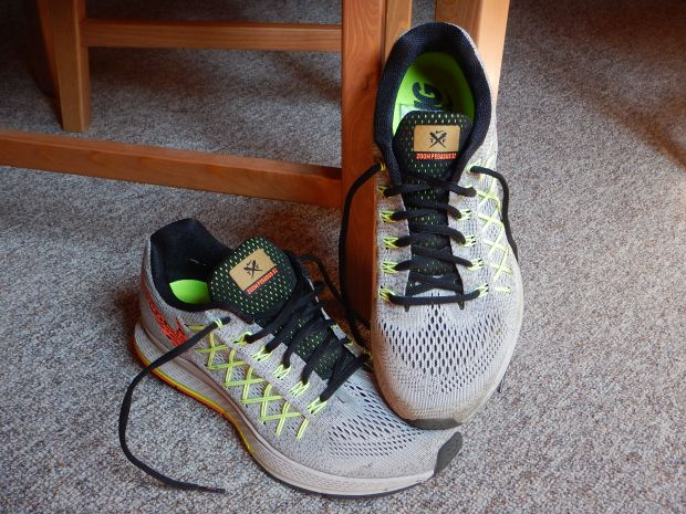 Nike Pegasus Trainers - very comfortable and was so looking forward to going running in them...doh.