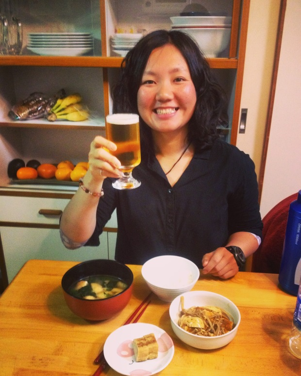 Eri is my personal chef, tour guide, translator and partner in crime for the season.