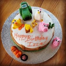 Homemade birthday cake for my goddaughter