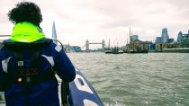 RYA Powerboat level 2 course on the Thames with my mum!